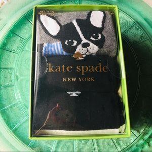Kate Spade Boston Terrier Sock Set